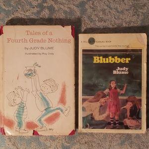 Vintage: 2 Judy Blume books